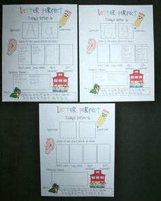 Classroom Freebies: Common Core Letter Perfect Activity Poster