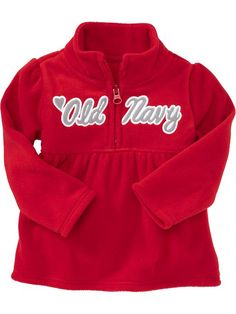 Old Navy | Micro Performance Fleece Logo Pullovers for Baby