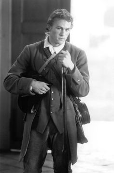 Heath Ledger in the patriot.....in love with his character Gabriel<3