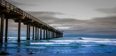 Scripps Pier,San Diego California