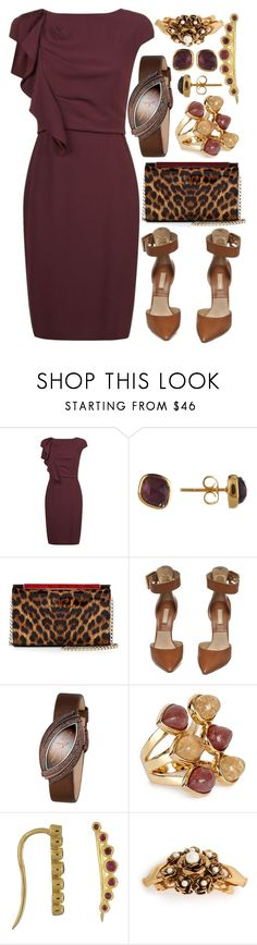 """""""Feeling Sexy!"""" by mrs-rc ❤ liked on Polyvore featuring MaxMara, Christian Louboutin, Michael Kors, LE VIAN, Isharya, Bony Levy and Marc Jacobs"""