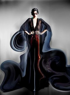 awesome Garage S/S 2014 | Karlie Kloss, Cara Delevingne + More by Nick Knight  [Art]