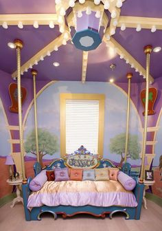 Carousel Room, we have the brass poles too!!Add a few horses will be great!