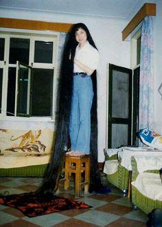 Rapunzel Hair, Super Long Hair, Beautiful Long Hair, Dream Hair, Down Hairstyles, Hair Lengths, Asian Woman, Tie Dye Skirt, Hair Beauty