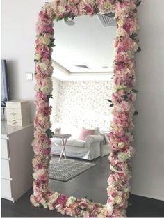 Diy Room Decor For Teens, Cute Room Decor, Room Ideas Bedroom, Diy For Teens, Bedroom Decor, Room Ideas For Teen Girls Diy, Bedroom Girls, Room Decor With Lights, Mirror For Bedroom