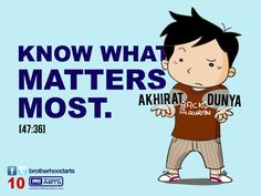 """#010 Ahmad Says: """"Know what matters most."""""""