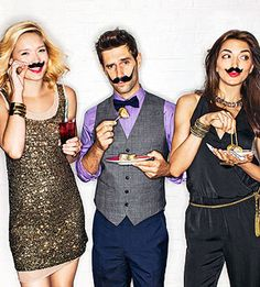 """Gotta throw a mustache party some day (or as Rach Ray calls it a """"stache bash"""").  Games, printables, food ideas and more"""