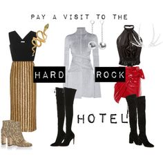 Hard Rock Hotel by modaoperandi on Polyvore featuring Proenza Schouler, Rodarte, Isabel Marant and more!