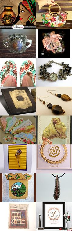 Sweet Earth Tones by Gabbie on Etsy--Pinned with TreasuryPin.com