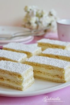 Gabriella kalandjai a konyhában :) Hungarian Cake, Hungarian Recipes, Baking Recipes, Cake Recipes, Dessert Recipes, Elegant Cakes, Cookie Desserts, Winter Food, No Bake Cake