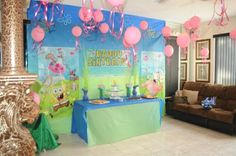 Spongebob Under the Sea Birthday Party Ideas | Photo 1 of 24 | Catch My Party