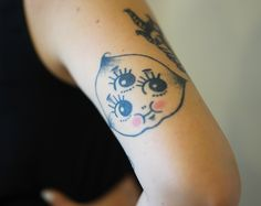 Tuesday Bassen's kewpie tattoo. OBSESSED!