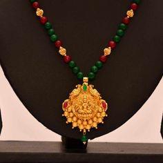 Online Shopping for Anvi's lakshmi (temple jewellery) p   Necklaces   Unique Indian Products by Anvi Collections - MANVI89250518580
