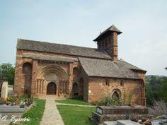 Espalion - Église Romane de Perse - XI-XII century - Aveyron dept. - Midi-Pyrénées région, France       ...mounbeupais.canalblog.com