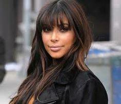 kim kardashian bangs - Google Search