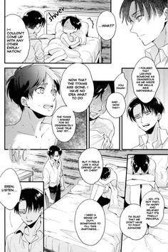 Page 16 #Ereri #riren #eren #yeager #levi #aot #attackontitan #yaoi #doujinshi #sweet #romantic #r18