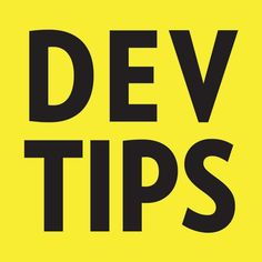 DevTips - weekly videos on the subject of web design and development. Each video quickly covers a topic to help us all become more awesome at internet! Every...