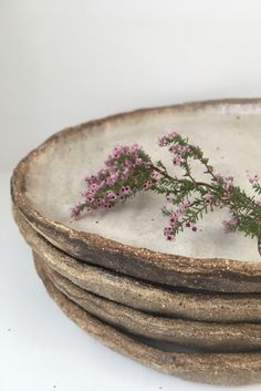 earthy side plates
