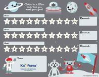 Reward Charts for Kids | Childrens Reward Charts: Kid Pointz