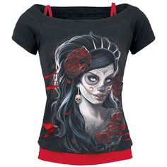 Spiral & Day Of The Dead: http://www.emp.fi/spiral-day-of-the-dead-naisten-t-paita/art_293124/?campaign/emp/fi/sm/pin/promotion/desk/04122014-293124