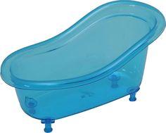 Acrylic Claw Foot Bathtub Basket Counter Top Organizer