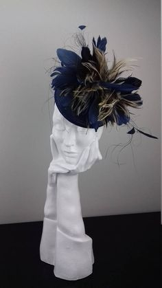 Dramatic hat suitable for Ascot Dubai World Cup The Curragh
