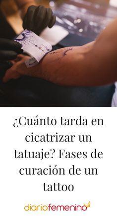 Cuanto Tarda En Cicatrizar Un Tatuaje Fases De Curacion De Un Tattoo Curacion De Un Tatuaje Curacion Cuidados Tatuaje