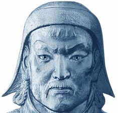 Gengis Kan. Emperador mongol. Tras unir bajo su liderazgo a las dispersas tribus mongolas, forjó un formidable imperio que se extendería por toda Asia.
