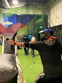 Having a bachelor or bachelorette party in Denver? Archery Games Denver is a fantastic physical (and competitive) activity for you and your friends! Think of it like archery meets dodgeball. It's crazy fun! Read my full review here. Denver Bachelor Party | Denver Bachelorette Party | Bachelor Party in Denver | Bachelorette Party in Denver | Denver Bachelor Party Ideas | Denver Bachelorette Party Ideas | Colorado Bachelor Party | Colorado Bachelorette Party | Denver Colorado Bachelor Party Denver City, Denver Colorado, Archery Games, Denver Travel, Travel Guide