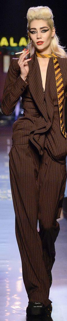 Jean Paul Gaultier Spring 2016 Couture Fashion Show Jean Paul Gaultier, Paul Gaultier Spring, Fashion 2020, High Fashion, Fashion Show, Fashion Outfits, Fashion Design, Unique Fashion, Women's Fashion