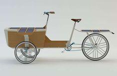 Solar-Powered Cargo Cycles - The Sun Bike Puts an Eco-Friendly Twist on the Christiania Bike (GALLERY)