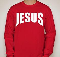 JESUS Fundraiser - unisex shirt design - front