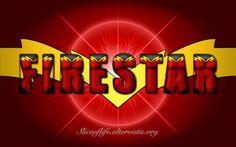 Firestar - Avengers version (Avengers/X-Men) Wallpaper
