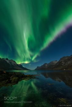 Ersfjorden in Norway by Kurtare