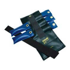 Pouch Fitness Gym Variable Wrist and Ankle Weight 5 lb, 5 x 1 lb inserts Black