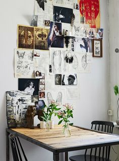 Méchant Design: distressed walls