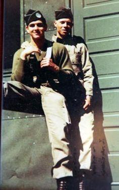Bill Guarnere and James Diel