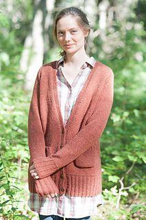 Ravelry: Maude cardigan pattern by Carrie Bostick Hoge Knit Cardigan Pattern, Sweater Knitting Patterns, Crochet Cardigan, Knitting Yarn, Knit Crochet, Knitting Ideas, Wool Yarn, Crochet Patterns, Knitting Machine