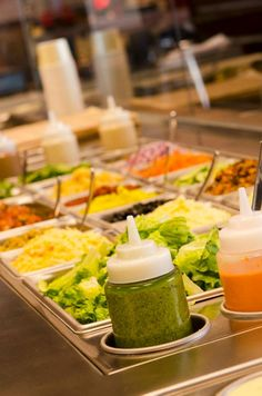 We have a huge variety of fresh toppings!