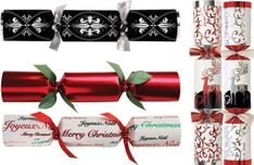 Stylish Christmas Crackers - could we not use a paper towel cardboard core roll to wrap small items, such as lipsticks and cosmetics???  :)