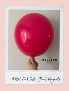 Balloon Garland, The Balloon, Balloon Decorations, Balloons And More, Pink Balloons, Stuffed Balloons, Balloons Galore, Balloon Shades, Qualatex Balloons