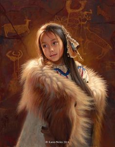 Available Western and Native American Original Paintings by Karen NolesCall (406) 883-2920 for pricing information. 7