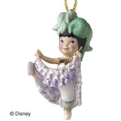 """It's a Small World, France - Can-Can Girl Ornament - """"Joie de Vivre"""" (Joy of Life) Retired Edition 10/09$29"""