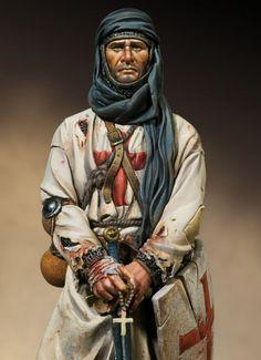 Warrior Monk. Circa 1250 A.D.