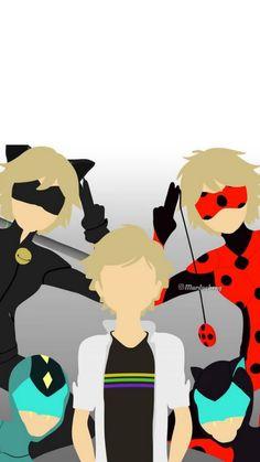Ladybug Y Cat Noir, Miraclous Ladybug, Ladybug Comics, Ladybugs, Miraculous Ladybug Wallpaper, Miraculous Ladybug Fan Art, Mlb Wallpaper, Iphone Wallpaper, Adrien Miraculous