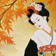 asian geisha | Jigsaw puzzles by Ozuma Kaname