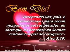 Bom Dia! https://www.facebook.com/devocionaldiretodafonte/photos/a.1029956360396507.1073741872.232857340106417/1116327401759402/?type=3&theater