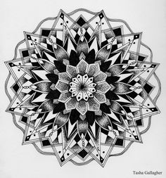 Mandala design from today.