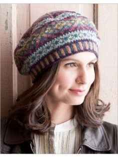 Faded Splendor Tam | InterweaveStore.com Fair Isle Tam $3.85