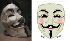 Brazilian Riot - Make Your Own Guy Fawkes Mask Paper Model  -   In several demonstrations all over Brazil you may have seen some people wearing a mask of a smiling mustachioed. For those who do not know that mask is not only used to hide the faces of the protesters, he has political overtones. That mask represents Guy Falkes (1570-1606) that was a member of a group of provincial English Catholics who planned the failed Gunpowder Plot of 1605.
